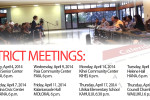 district meetings
