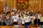 Students from Goyang, South Korea