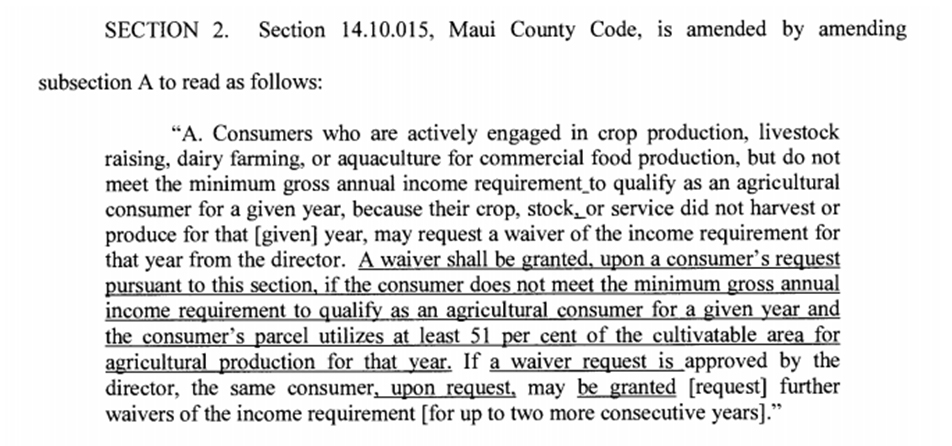 Section 14 Maui County Code