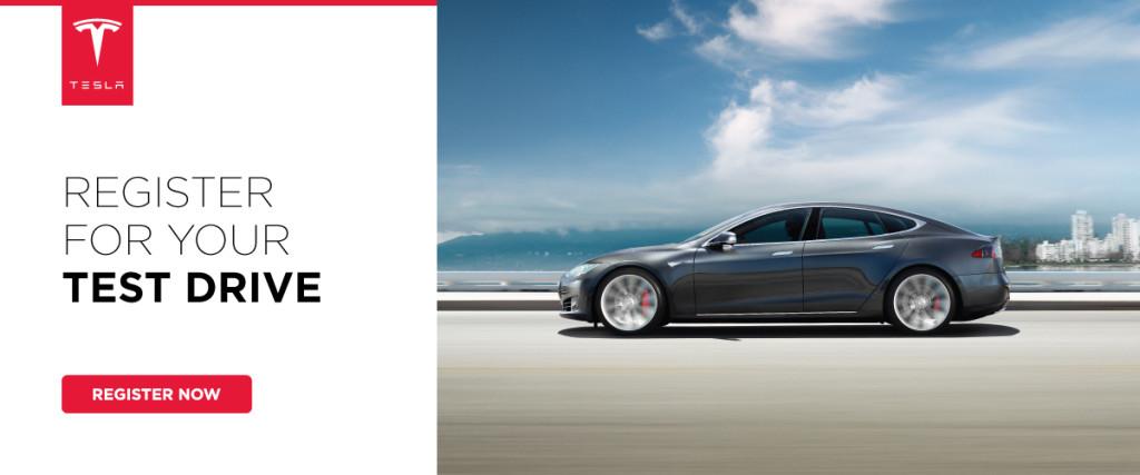 Register for Tesla
