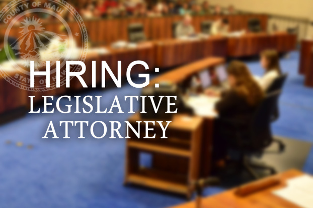 Hiring: Legislative Attorney