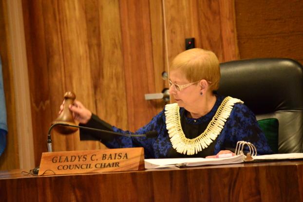Council Chair Gladys Baisa