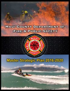 Fire master plan