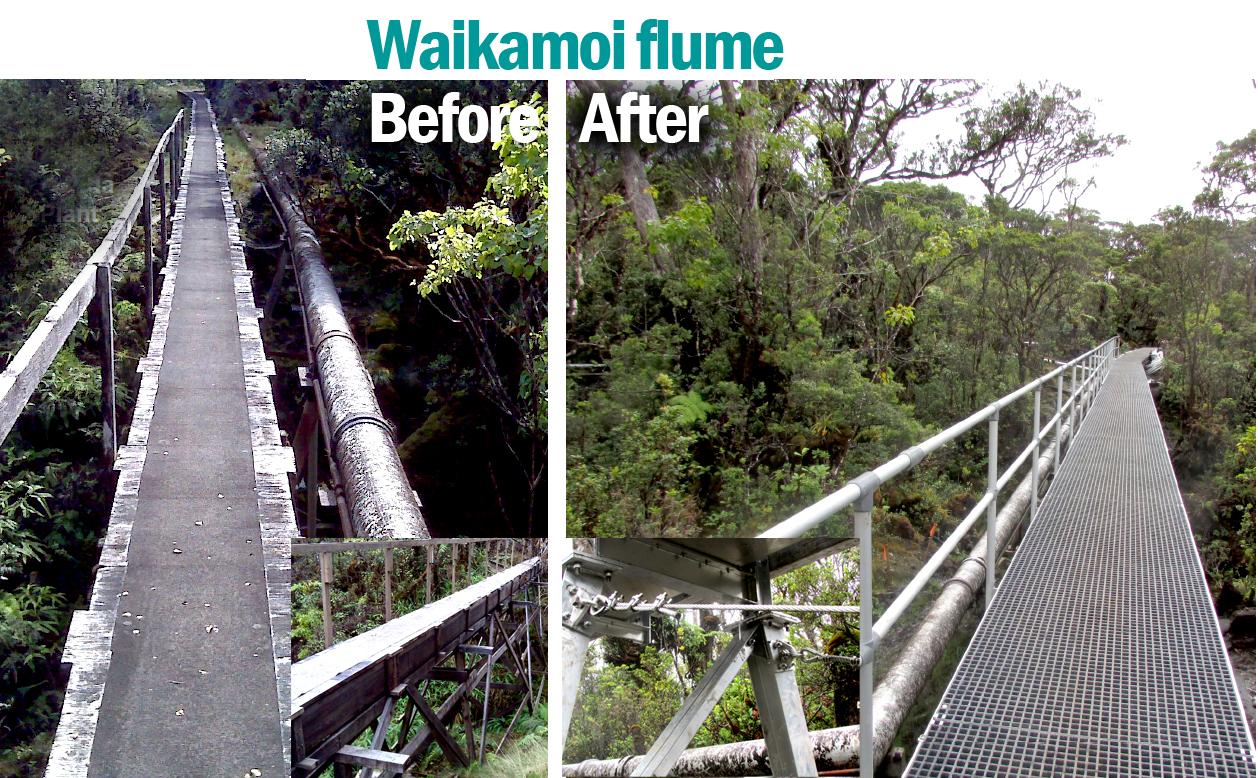 Waikamoi Flume