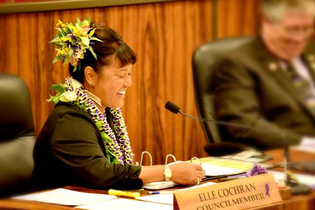 Councilmember Elle Cochran