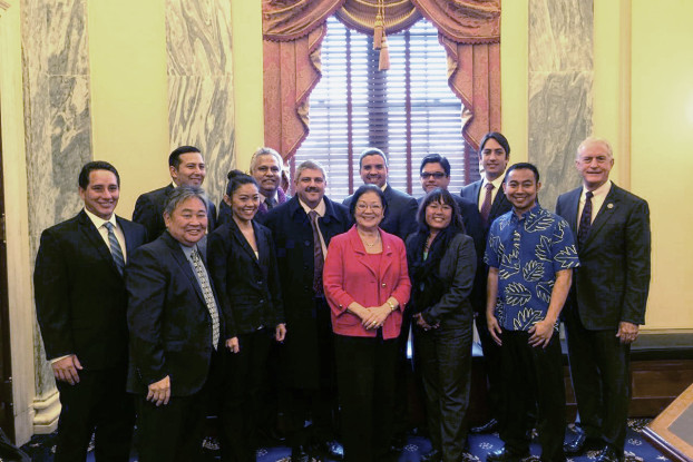 Hirono with HSAC