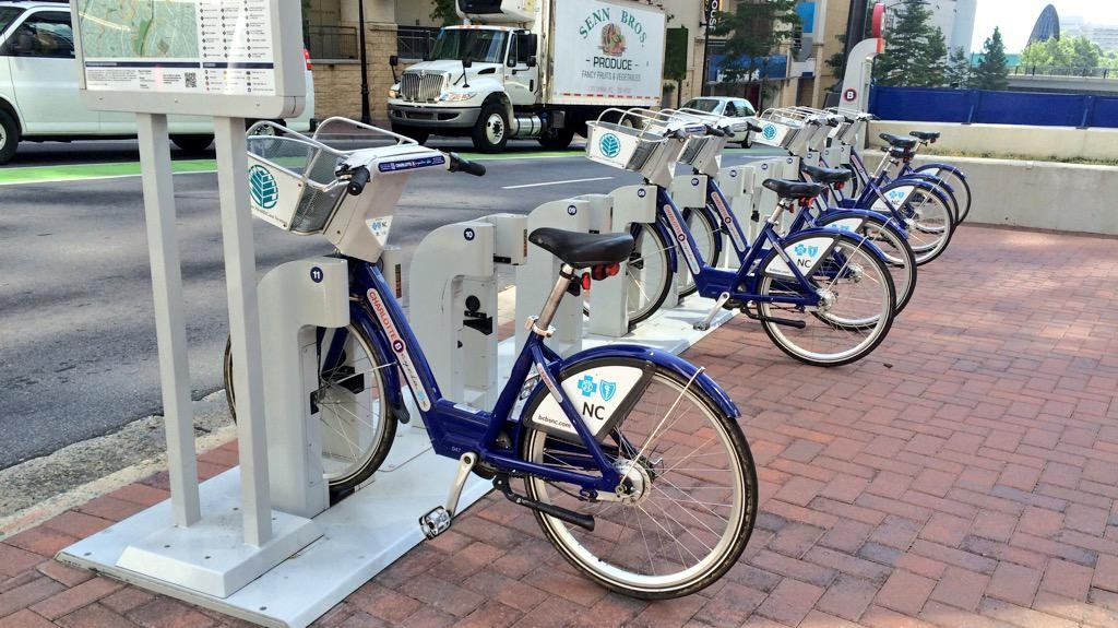 Charlotte City Bike Sharing program