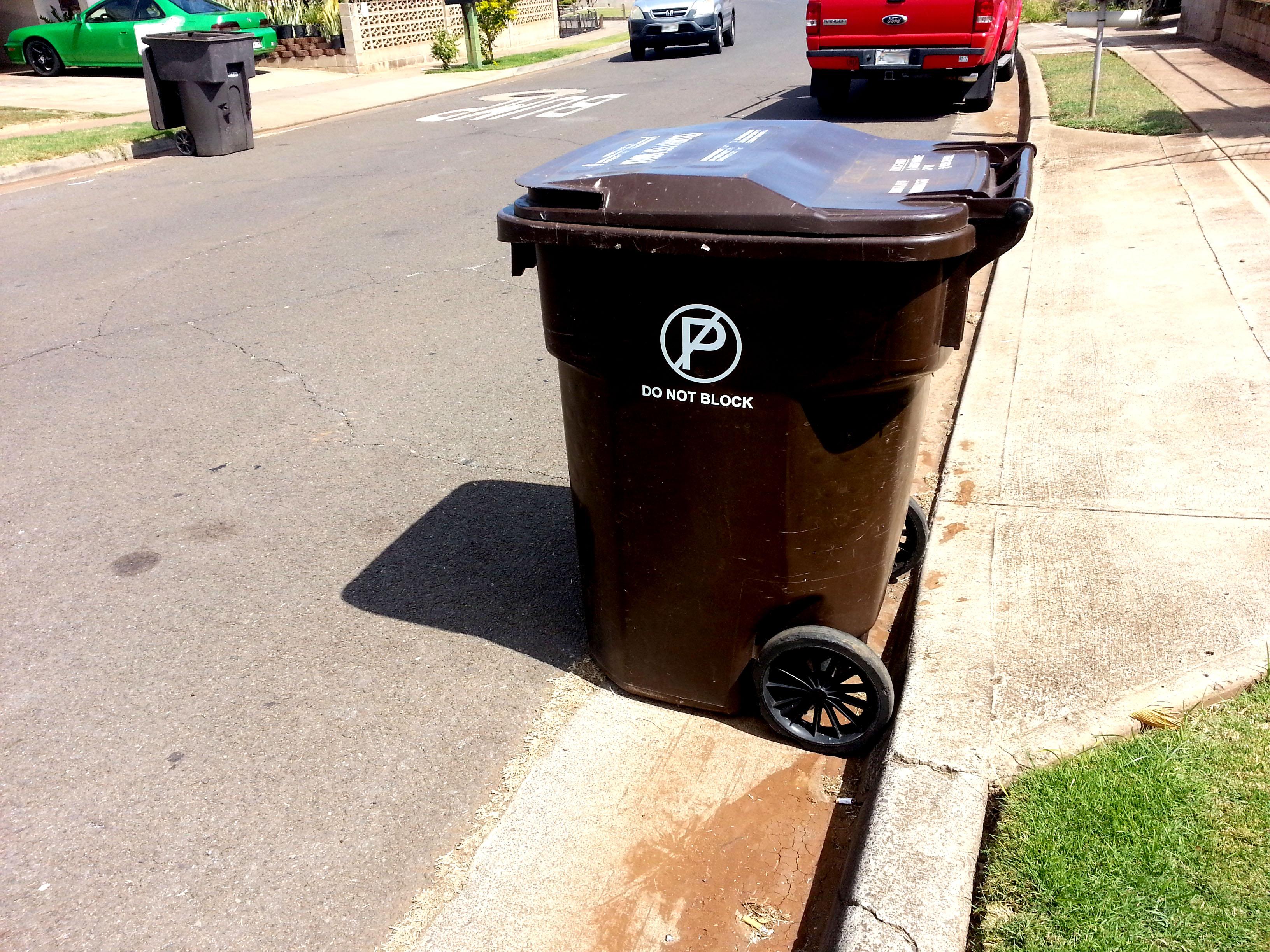 Trash pickups