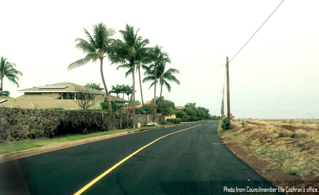 Puukolii Road bumpy