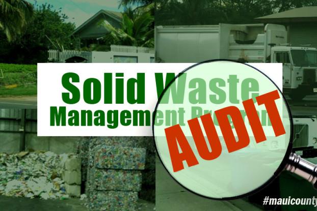Solid waste program audit