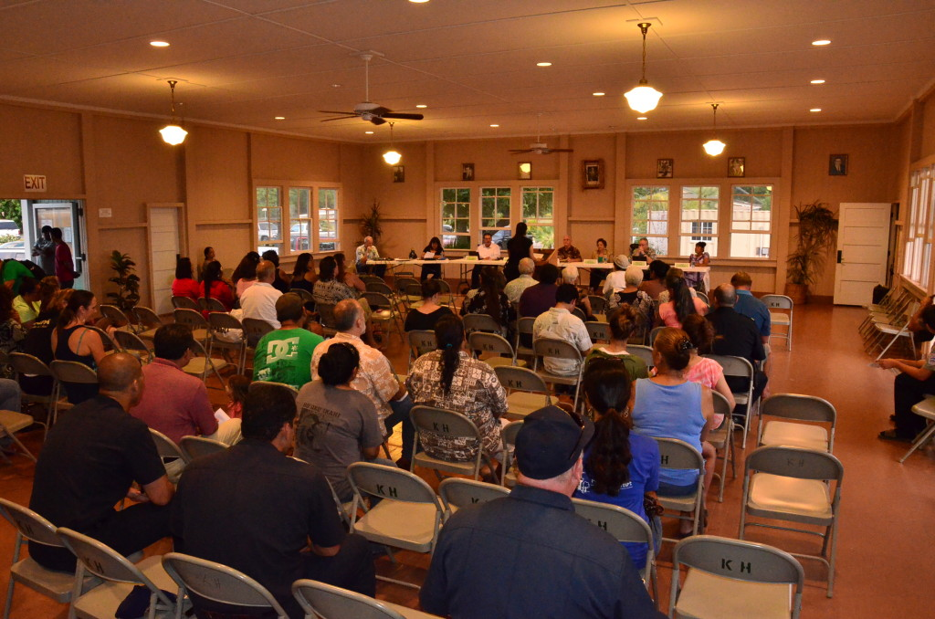 Molokai budget hearing