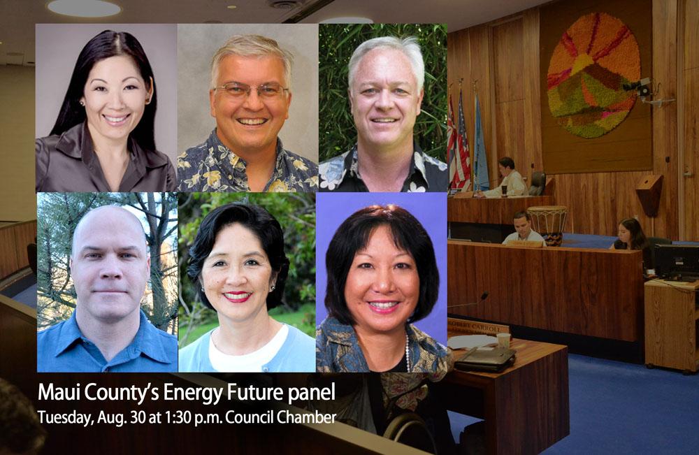 Maui County's Energy Future panel