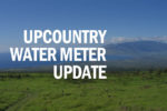 Upcountry water meter