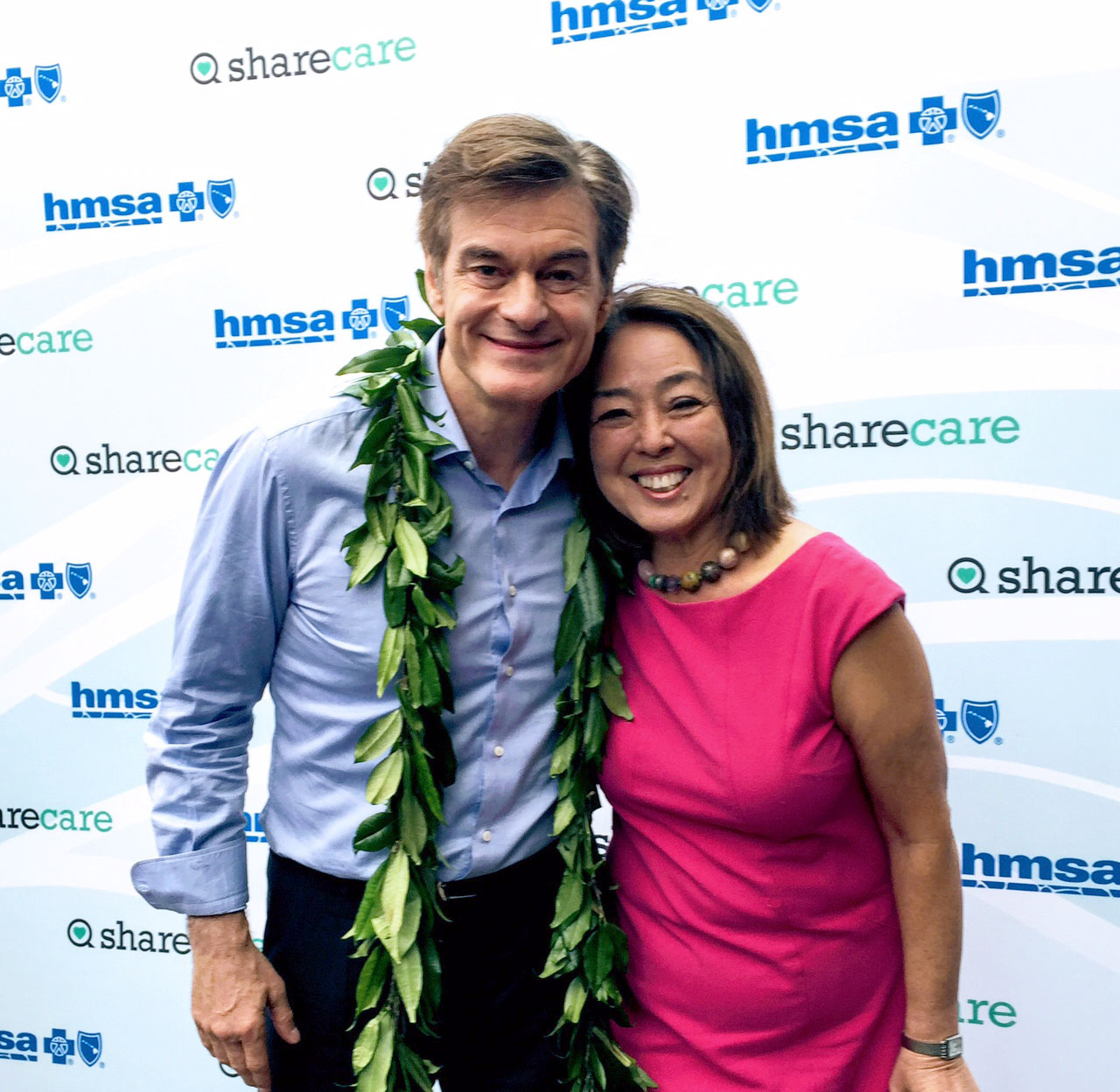 Dr. Oz and Yuki Lei