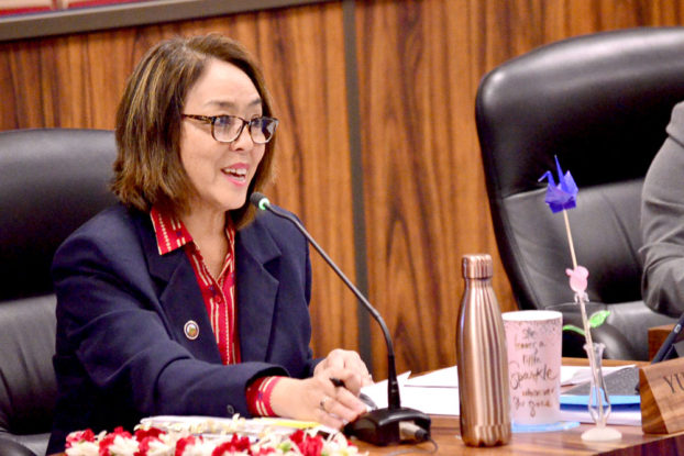 'Councilmember Sugimura' from the web at 'http://mauicounty.us/wp-content/uploads/2017/03/Yuki-Lei2-622x415.jpg'