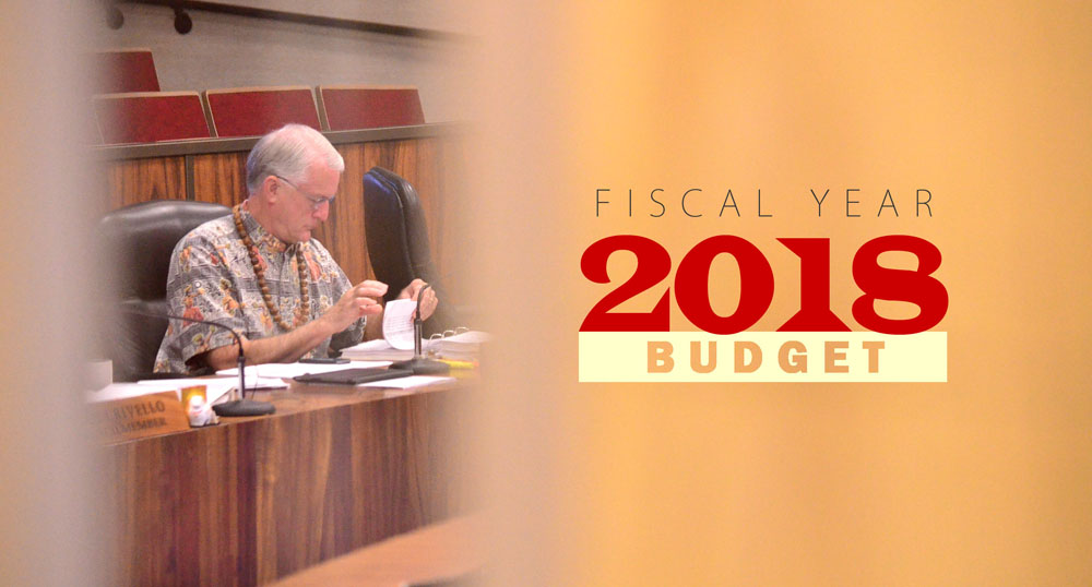 Fiscal Year 2018 budget