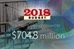 Budget fy 2018