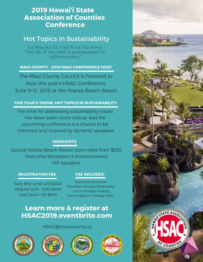 Registration Flyer HSAC 2019